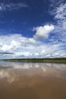 Confluence of Maranon and Ucayali Rivers Forming Amazon River by Wolfgang Kaehler