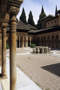 Palace and Courtyard of the Lions von Wolfgang Kaehler