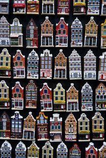 Close Up of Souvenir Magnets by Wolfgang Kaehler