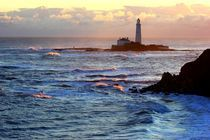 St Mary's Lighthouse by John Dunbar