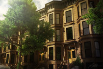 Brooklyn Brownstones von Jinmu Staddon