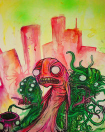 Monsters rock da city by gloenn