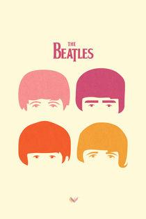 Minimal Beatles von Jonathan Vizcuña