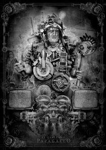 El Capitano Papagallo - b/w by Ralf Krause