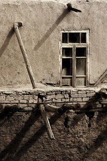 The old broken window  by Diana Kartasheva