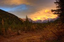 Autumn with the Mountains view. von Michael Latman