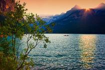 Lake Louise.Sunset. by Michael Latman
