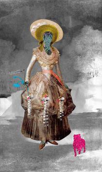 Marquesa de Pontejos - Collage by Marko Köppe