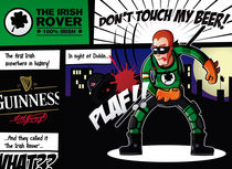 The Irish Rover, the first irish superhero by David Liberal