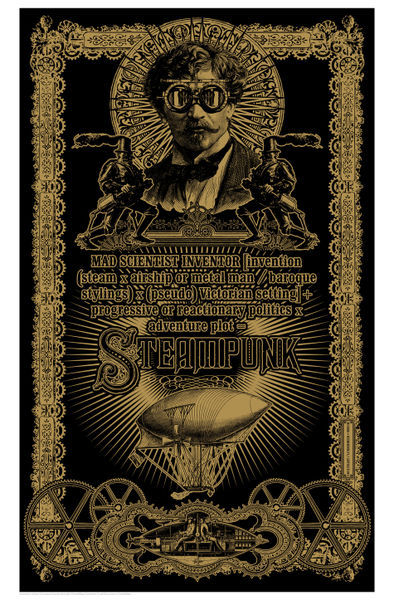 "What Is Voodoo >> ""Steampunk"" Graphic/Illustration art prints and posters by ..."