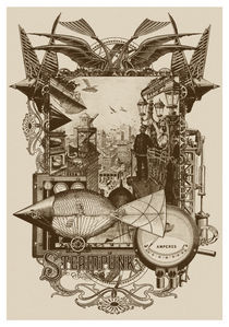 Steampunk: Life in Our New Century! von John Coulthart