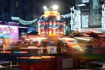 City Winter Carnival Merry-go-round by Paul Iulian Gheorghe