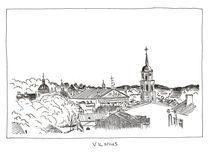 Panorama of Vilnius by Raimondas Žukauskas