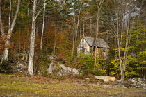 Mountain cabin, Vermont, USA by John Greim