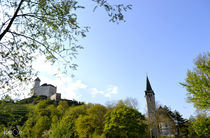 Gutenbergschloss und Kirche von Vlado  Franjevic