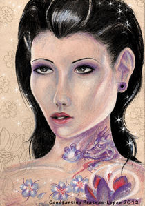 Dragon Girl  by constantina