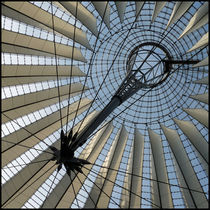 Dachkonstruktion des Sony Center Berlin/ roof construction of the Sony Center Berlin  by Maximilian Jungwirt