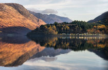 Reflections of Loch Leven by Jacqi Elmslie