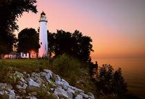 Point Aux Barques Lighthouse von Michael Peychich