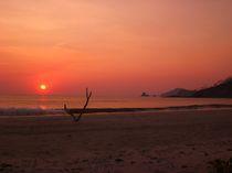Sonnenuntergang am Strand von Eva-Maria Steger