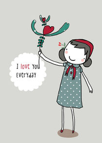 I love you everyday by June Keser