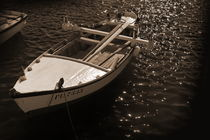 A classical white boat.  by Gordan Bakovic