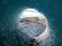 There ́s a hole in my glacier by Micaela Molina