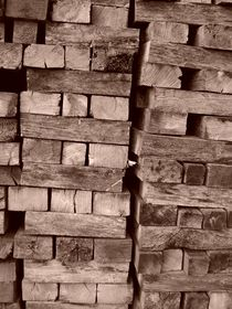 Wood Stack von Rebecca Ledford