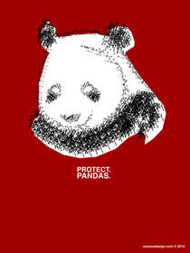Protect Pandas. von marevedesign