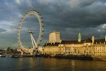 London Eye at Sundown von Gerry Walden