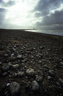 Le Havre beach by Razvan Anghelescu