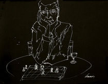 Chessplayer by Balazs Ferencz