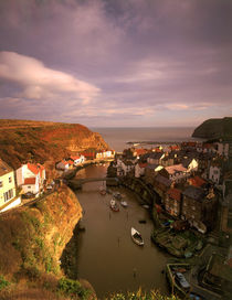 Staithes by Mark Lucock