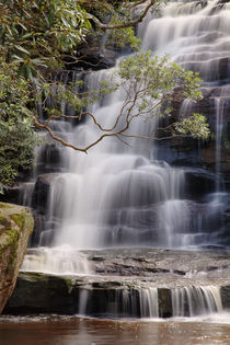 Somersby Falls by Mark Lucock