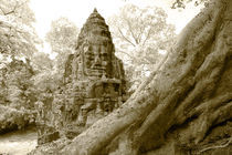 Victory Gate at Angkor Thom by Mark Lucock