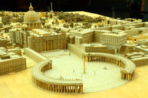 Rome-st-peters-basilica-model