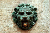 Venice-antique-lion-door-bell