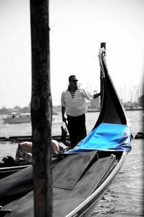 Venice- Gondola & Gondolier by Gautam Tingre