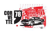 """Corvette """"78 by Pedro Ribeiro"""