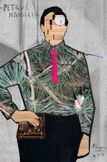 Picasso ́s Pedro Manach 1b Collage by Marko Köppe