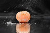 rain orange by Vadym Sapatrylo