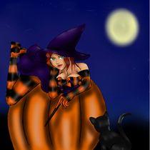 Pumpkin Witch by Autumn Walker-Duncan