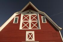 North Battleford: Western Development Museum and Village Red Barn and Village Farm by Danita Delimont