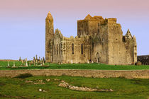 Ruins of the Rock of Cashel cathedral and fortress by Danita Delimont