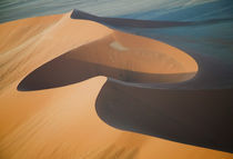 Aerial view of sand dunes by Danita Delimont
