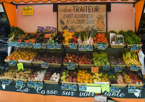 Produce at market in Calvi von Danita Delimont