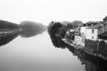 The Loire: CHINON View of the River Vienne von Danita Delimont