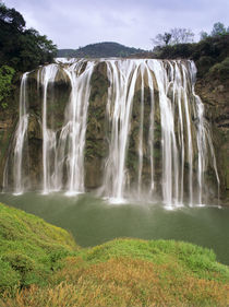 Huangguoshu Falls are largest in Asia by Danita Delimont