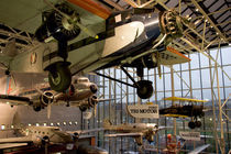 Aircraft displayed in Smithsonian Air and Space Museum von Danita Delimont