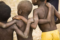 Close-up shot of young Dagomba boys by Danita Delimont